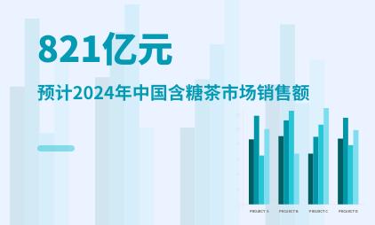 茶饮行业数据分析:预计2024年中国含糖茶市场销售额将达到821亿元