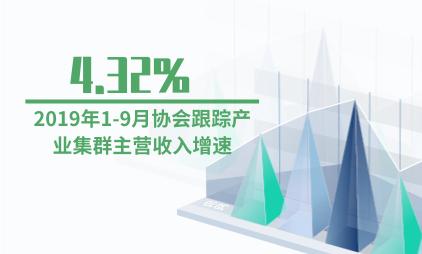 家纺行业数据分析:2019年1-9月协会跟踪产业集群主营收入增速为4.32%
