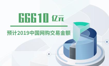网购行业数据分析:2019年中国网购交易金额预计将达66610亿元