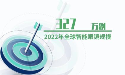人工智能行业数据分析:预计2022年全球智能眼镜规模将达327万副