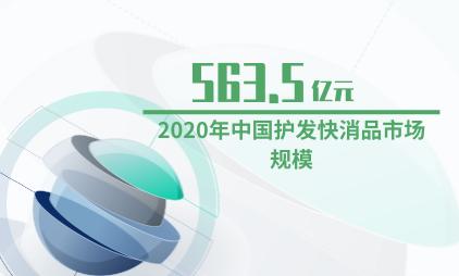 洗护行业数据分析:2020年中国护发快消品市场规模预计达563.5亿元