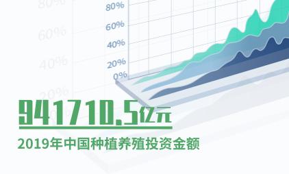 种植养殖行业数据分析:2019年中国种植养殖投资金额达941710.5亿元