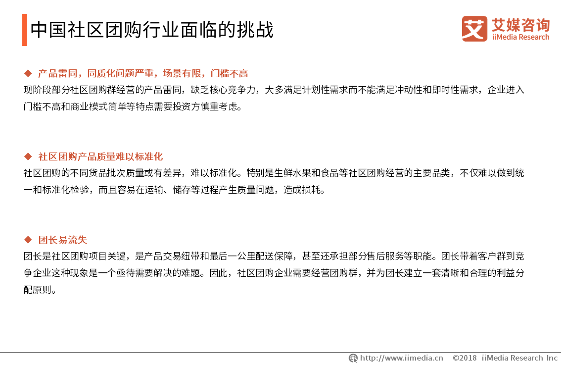 中国社区团购行业面临的挑战