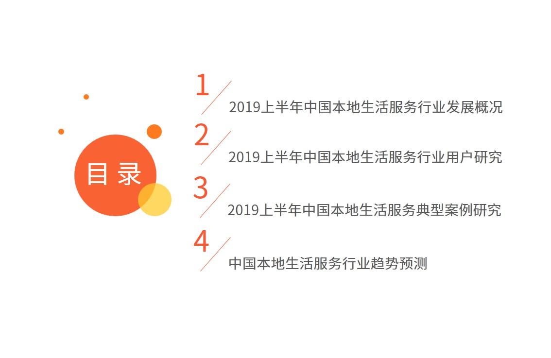 中国本地生活服务行业市场监测报告-艾媒咨询