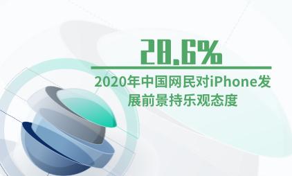 手机行业数据分析:2020年28.6%中国网民对iPhone发展前景持乐观态度