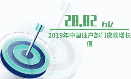 信贷行业数据分析:2019年中国住户部门贷款增长值为28.82万亿