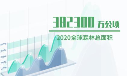 森林行业数据分析:2020年全球森林总面积预计为382300万公顷