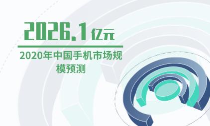 手机行业数据分析:预计2020年中国手机市场规模达2026.1亿元
