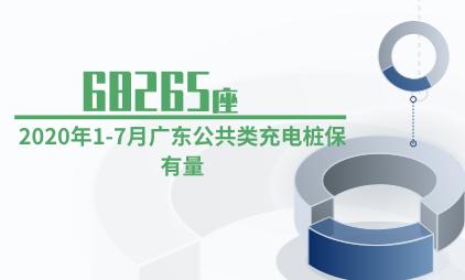 充电桩行业数据分析:2020年1-7月广东公共类充电桩保有量为68265座