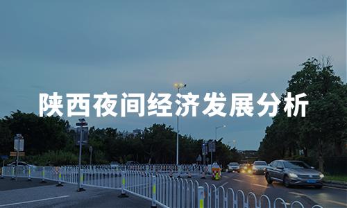 2020中国代表城市夜间经济发展分析——陕西