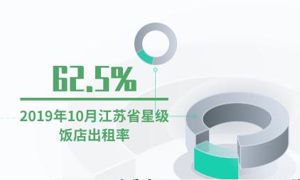 酒店行业数据分析:2019年10月江苏省星级饭店出租率为62.5%