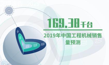 工程行业数据分析:2019年中国工程机械销售量将达169.38千台