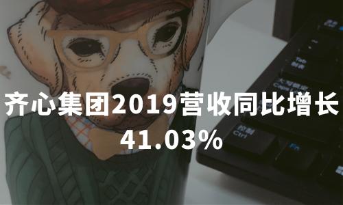 齐心集团2019营收同比增长41.03%,云视频服务能力深化