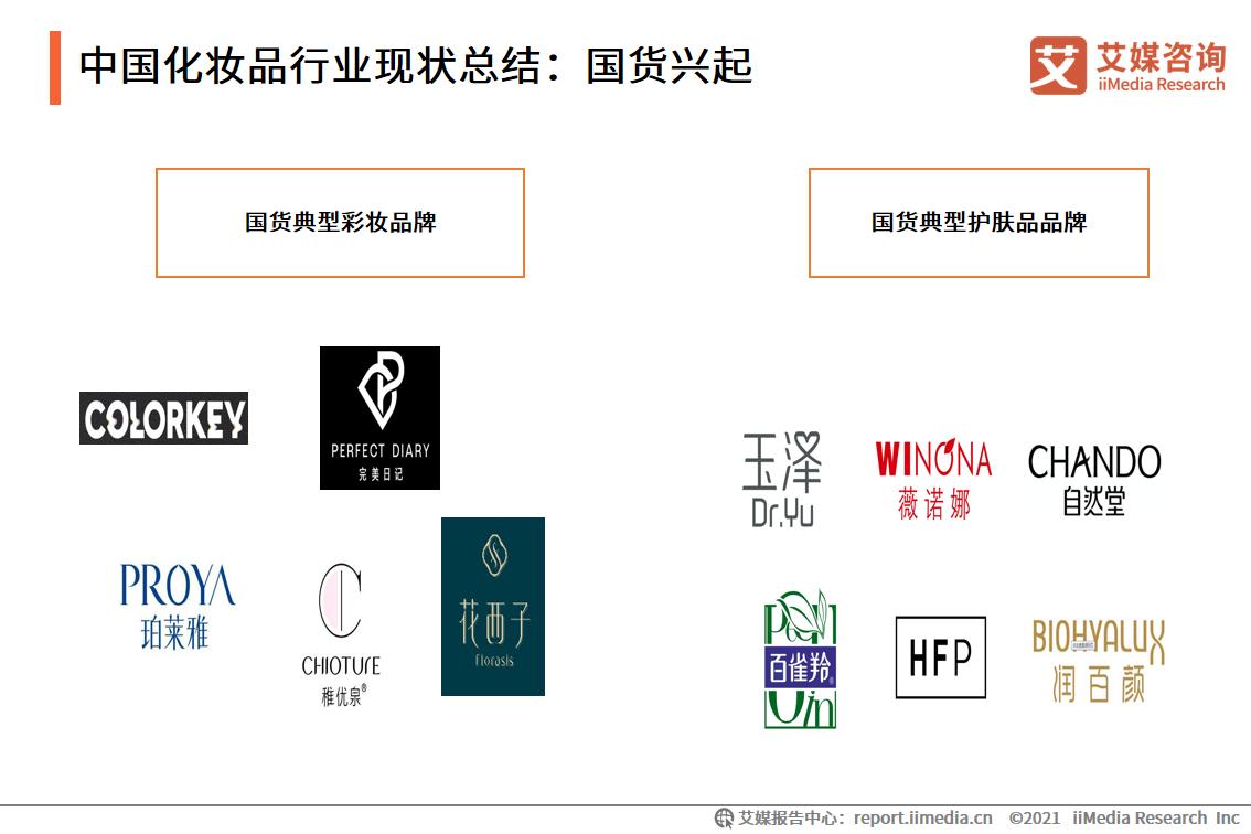 中国化妆品行业现状总结:国货兴起