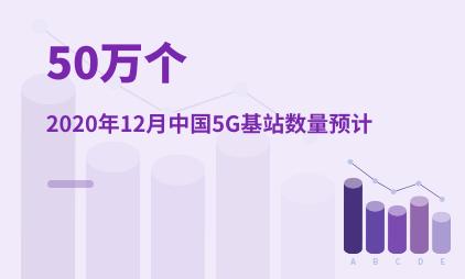互联网行业数据分析:2020年12月中国5G基站数量预计50万个