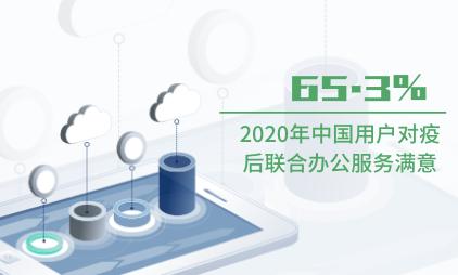 办公行业数据分析:2020年中国65.3%用户对疫后联合办公服务满意