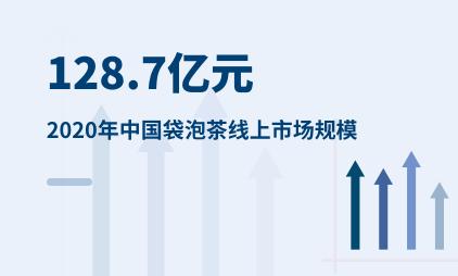 袋泡茶行业数据分析:2020年中国袋泡茶线上市场规模达128.7亿元