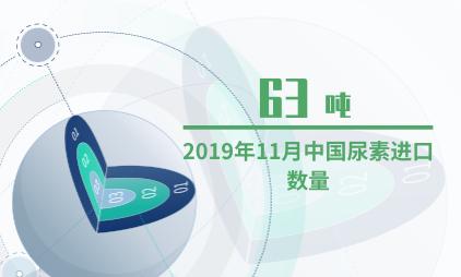 化肥行业数据分析:2019年11月中国尿素进口数量为63吨