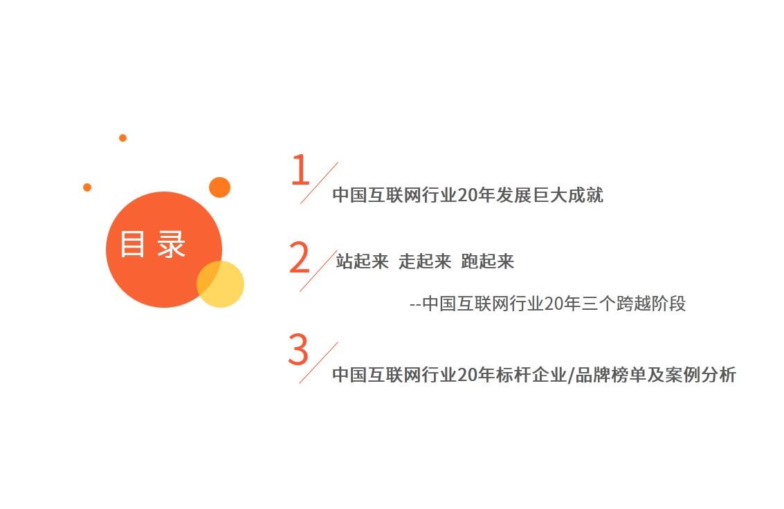 中國互聯網發展20年盤點專題報告-艾媒咨詢