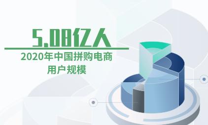 拼购电商数据分析:预计2020年中国拼购电商用户规模将达5.08亿人