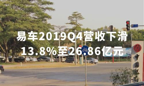 财报解读 | 易车2019Q4营收下滑13.8%至26.86亿元,全年亏损幅度扩大