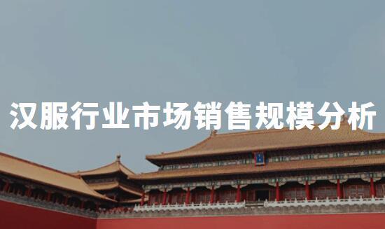 2020年中国汉服行业热点事件盘点及市场销售规模分析
