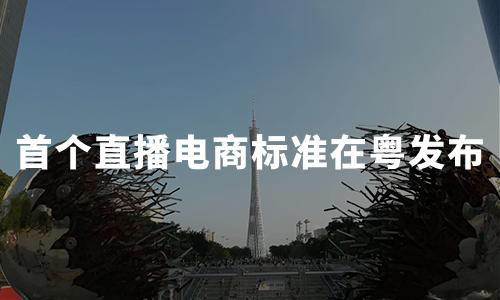 全国首个直播电商标准在粤发布,2020直播电商行业问题及趋势解读