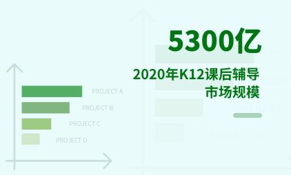 K12课后辅导:2020年K12课后辅导市场规模达5300亿