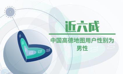 手机地图行业数据分析:近六成中国高德地图用户性别为男性