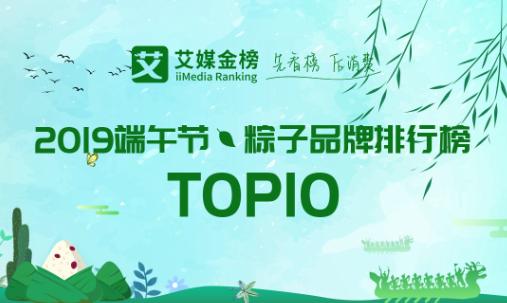 艾媒金榜丨2019端午节·粽子品牌排行榜