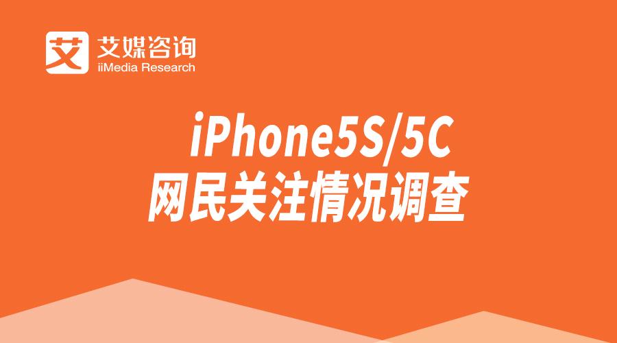iPhone5S/5C的网民关注情况调查
