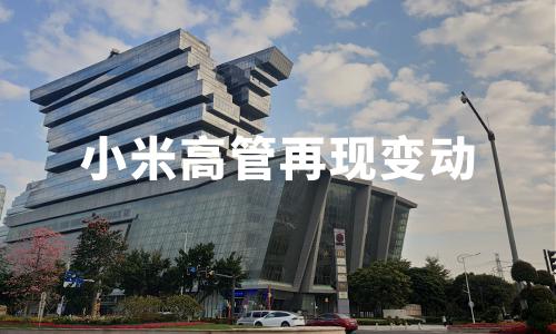 小米高管再现变动:联合创始人黎万强离职,林斌、王翔晋升