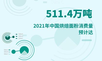 烘焙行业数据分析:2021年中国烘焙面粉消费量预计达511.4万吨