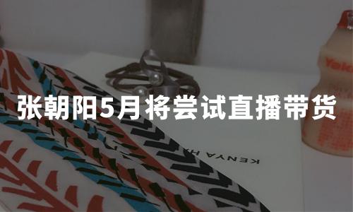 """直播带货""""高烧""""不退:张朝阳也加入直播大军,5月计划亲自下场"""
