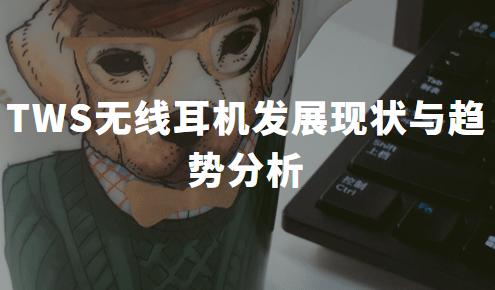 2020年中国TWS无线耳机发展现状与趋势分析