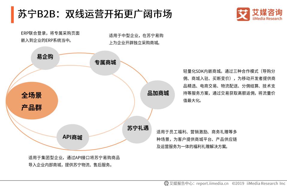 苏宁B2B:双线运营开拓更广阔市场(一)
