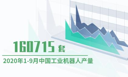 机器人行业数据分析:2020年1-9月中国工业机器人产量为160715套