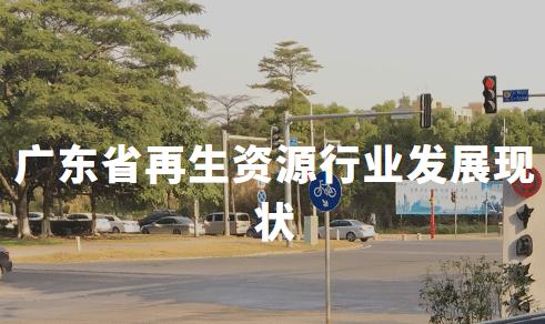 2019-2020中国再生资源行业重点区域发展现状分析——广东省