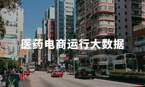 2019-2020中国大健康产业医药电商运行大数据监测及案例分析