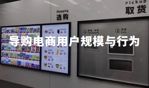 2019年中国导购电商用户规模与行为解读