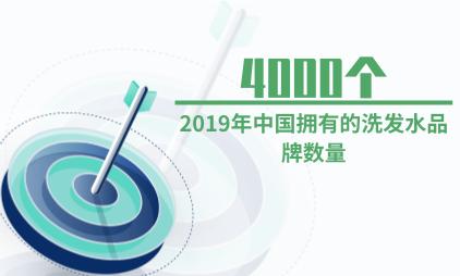 洗护行业数据分析:2019年中国拥有的洗发水品牌数量将近4000个