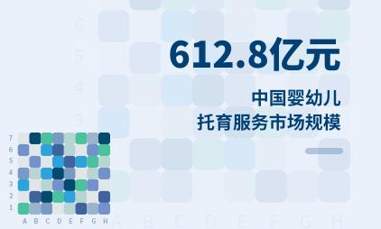 托育行业数据分析:2020年中国婴幼儿托育服务市场规模为612.8亿元