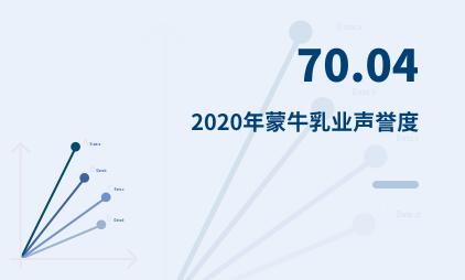 饮料行业数据分析:2020年蒙牛乳业声誉度为70.04
