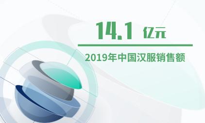 漢服產業數據分析:2019年中國漢服銷售額預計將達到14.1億元