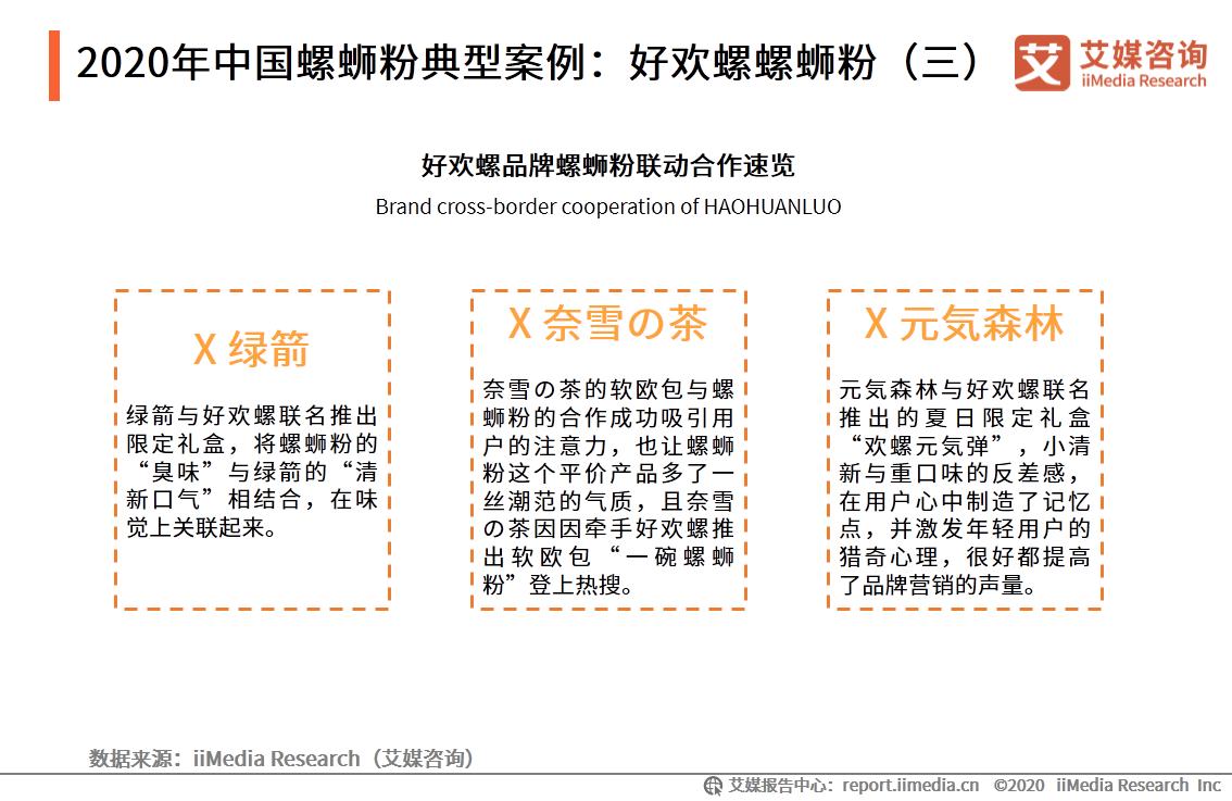 2020年中国螺蛳粉典型案例:好欢螺螺蛳粉