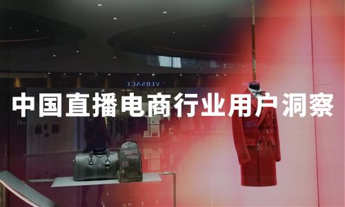 2020年中国直播电商行业用户画像及行为洞察