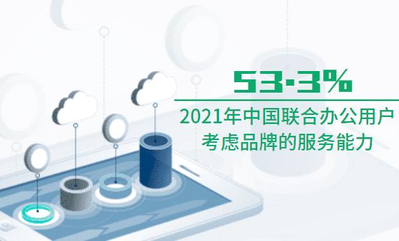 联合办公行业数据分析:2021年中国53.3%联合办公行业用户考虑品牌的服务能力