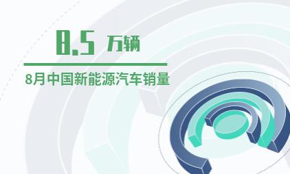 汽车行业数据分析:2019年8月中国新能源汽车销量达8.5万辆