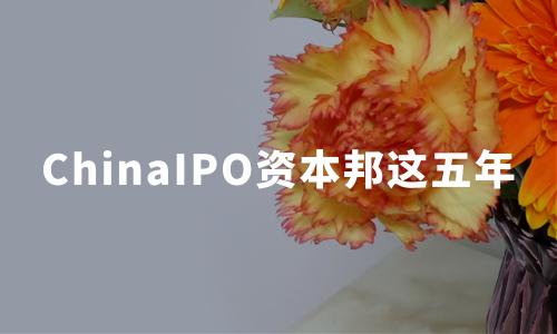 与资本市场同行——ChinaIPO资本邦这五年