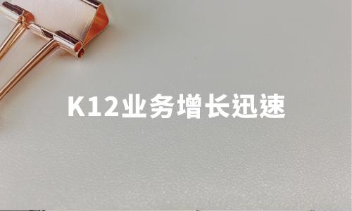 财报解读 | 新东方在线上半财年营收5.68亿,K12业务增长迅速,孙畅辞任联席CEO